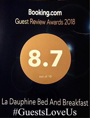 Booking.com Guest Review Awards 2018 #GuestsLoveus picture.