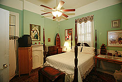 Gothic suite, La Dauphine bed and breakfast, New Orleans
