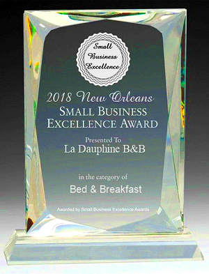 Small Business Excellence Award picture.
